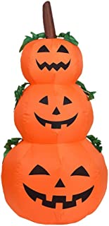 Cimaybeauty Halloween Garden Inflatable Inflatable Garden Indoor Outdoor Decoration 4 FT Halloween Ghost Inflatable 1.2 m 1.5 m 2 m Ghost Ghost Pumpkin Decoration Inflatable Inflatable Lamp Garden Decoration
