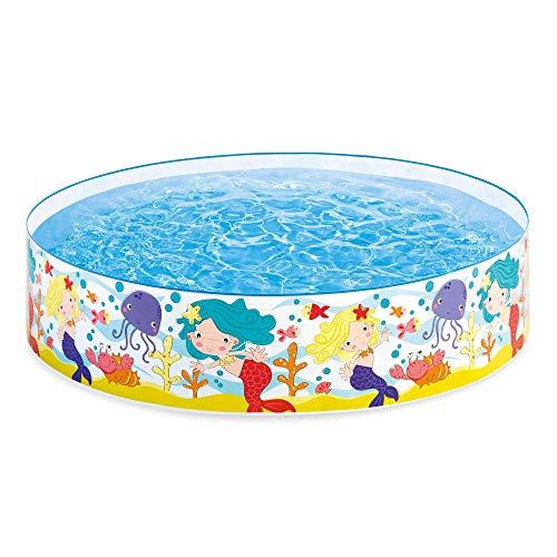 Intex Mermaids by The Sea Kids 6' x 15 Instant Kiddie SnapSet Swimming Pool