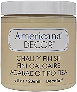 DecoArt ADC-04 Americana Chalky Finish Paint, 8-Ounce, Timeless