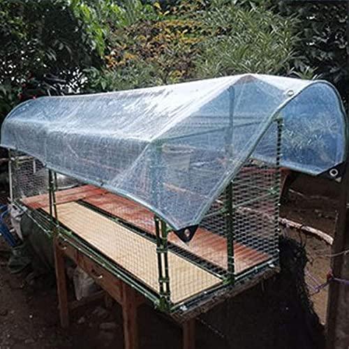 KMILE Tarpaulina, Lona, Impermeable, a Prueba de Polvo, a Prueba de Viento, a Prueba de Agua, Resistente a Prueba de Agua, Resistente Plegable para Veranda Garden Camp Exterior (Size : 1x3m)