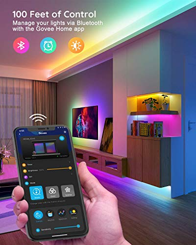 Govee Rgbic Led Strip Lights, App and Remote Control for Bedroom, Living Room, Kitchen, and Party 4