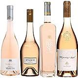 Best of Provence - Lot de 4 bouteilles - Minuty Rose et Or - Studio de Miraval - Terre de Berne - Esclans Whispering Angel - Côtes de Provence Rosé 2019 (4 * 75cl)