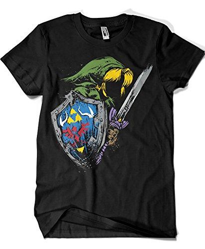 Camisetas La Colmena 1075-Camiseta Zelda - Hyrule Warrior (Dr.Monekers)