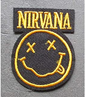 Patch Groupe Kiss Rond 8.5cm ecusson thermocollant Hard Rock hotrodspirit