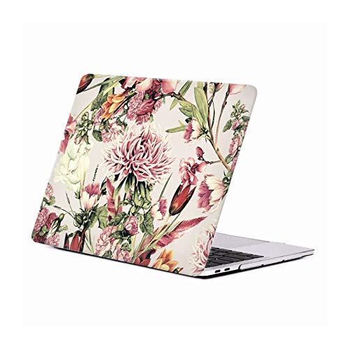 Head Case Designs Oficial Riza Peker Floral XI Flores 2 Carcasa Rígida Compatible con Macbook MacBook Pro 13' A1989 / A2159