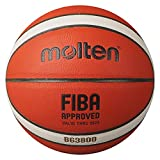 BALÓN MOLTEN Baloncesto B7G3800 Pelota Naranja, Talla 7