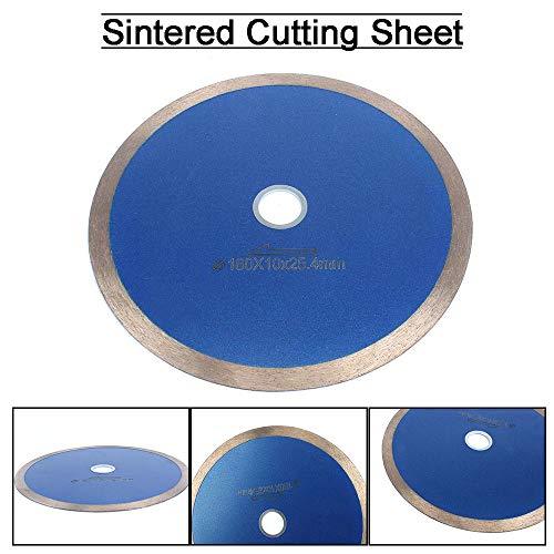 SI FANG Hoja de diamante de 7 pulgadas 180 mm, cortador de disco de hoja de sierra de diamante para cortar cerámica y piedra de jade