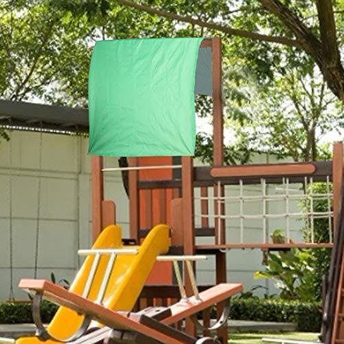 Omabeta El toldo con Dosel oscilante Viene con una Bolsa de Almacenamiento a Prueba de Lluvia Impermeable para Senderismo Camping Mochila 100% Nuevo(Green)