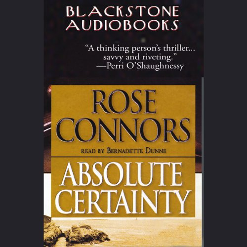 Absolute Certainty  Audiolibri