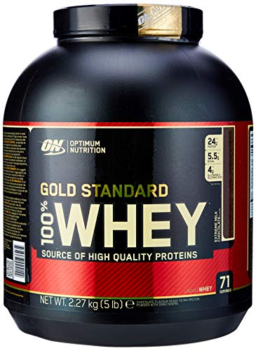 Optimum Nutrition 100% Whey Gold Standard (5lbs) Extreme Milk Chocolate, 1 Units, 2.27 kg (Pack of 1)