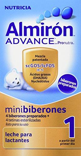 Almirón Advance con Pronutra 1 Minibiberones Leche de inicio a partir del...