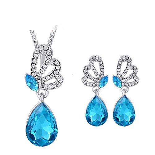 GYJUN Bijoux Colliers décoratifs / Boucles d'oreille Mariage / Soirée / Quotidien / Décontracté Cristal 1set , green