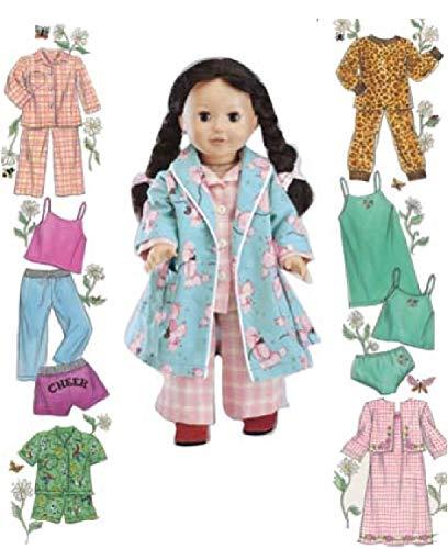 semplicità 5276 - Modelli per Cucire Vestiti per Le Bambole (Un Formato)
