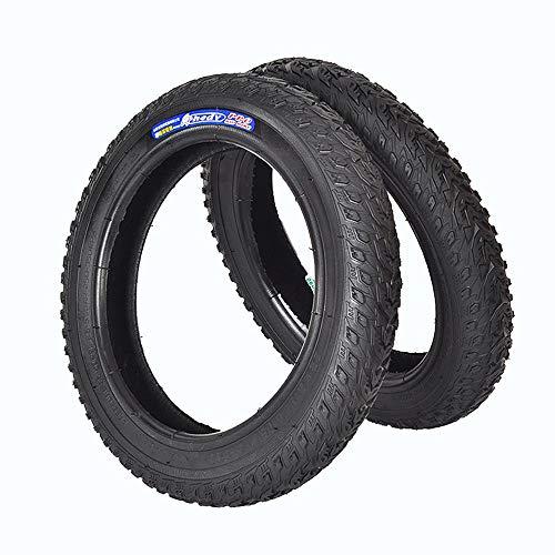 Neumático de la Bicicleta 2pcs 12' 14' 16' 18' 20' neumáticos Pulgadas de la Bici de BMX neumáticos MTB niños Bicicleta de montaña Ciclismo Montar la Rueda Cubierta Externa 12 x 2125inch