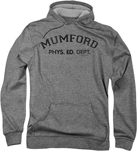 Beverly Hills Cop - - Mumford capuche pour hommes, Large, Athletic Heather