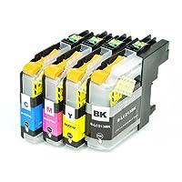 【インク革命製】 ブラザー LC213-4PK (4色パック) brother 互換 インクカートリッジ 対応機種:DCP-J4220N / J4225N / MFC-J4720N / J5720CDW / J4725N / J5820DN / J5620CDW