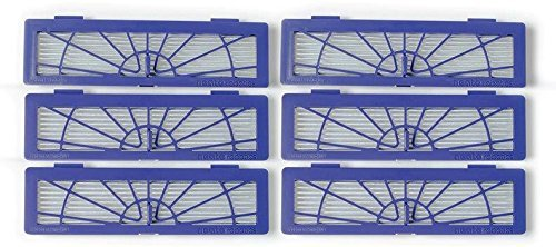 Neato High Performance Filter for Botvac Robot Vacuums, 6-Pack by NEATO