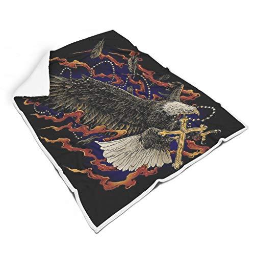 NC83 Blanket scheddelaar design print fleece reuze-deken robe - schrikkende schedel super comfort voor lunch