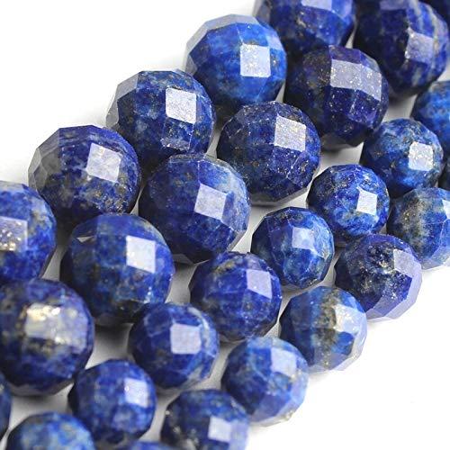 haoyushangmao 7,5 Pulgadas Cuentas de Piedras Naturales talladas de 6 mm 8 mm Negro Turmalina canadienses Granos Redondos de Jade for la fabricación de la joyería Pendientes de la Pulsera DIY
