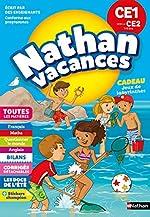 Cahier de Vacances 2019 du CE1 vers le CE2 - Nathan Vacances - 7/8 ANS de M Rocher