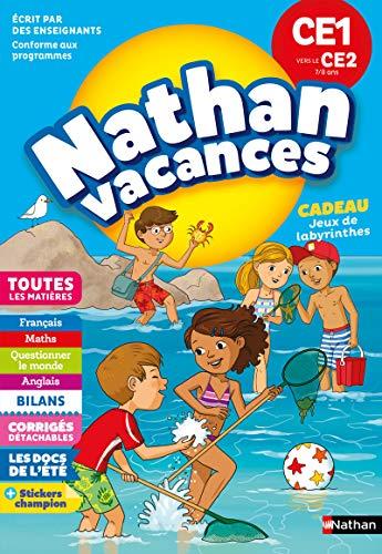 Cahier de Vacances 2019 du CE1 vers le CE2