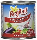 Régilait Lait Concentré Non Sucré Boîte 4 x 170 g - Lot de 3