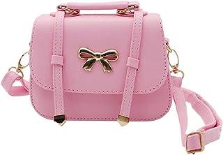 d4afa35d0f20 Scheppend Fashion Little Girls Handbag Kids Shoulder Bag Cross Body  Dual-purpose Purse for Children