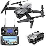 Simulus Drohne: Faltbarer GPS-Quadrocopter mit Brushless-Motor, 4K-Cam, WLAN und App (Quadkopter)