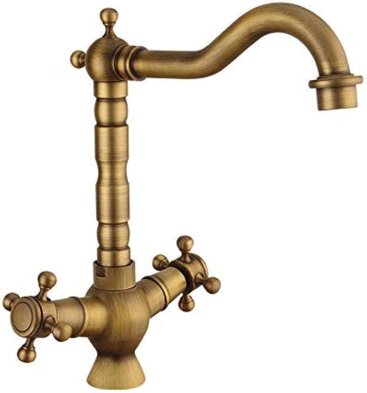 Küchenmischer Cold Brass Faucet Kitchen Hot Mischbatterie Single Handle Brushed Mounted Handle Einfache InsGrößetion Klassisches Design Hohe Qualitt