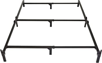 Amazon Basics 9-Leg Support Metal Bed Frame - Strong Support for Box Spring and Mattress Set - Tool-Free Easy Assembly - F...