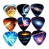 XKSIKjian's Guitar Accessorie, 10pcs Colorful Universe Planet Picks Mixed...