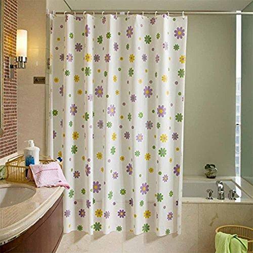 Demarkt Eva Hohe Qualität 3D Wasserwürfel Effekt Schwer Halbdurchsichtige Duschvorhang Badezimmer Vorhang