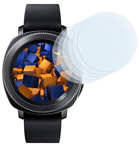 mumbi Schutzfolie kompatibel mit Samsung Gear Sport Folie klar, Bildschirmschutzfolie (6X)