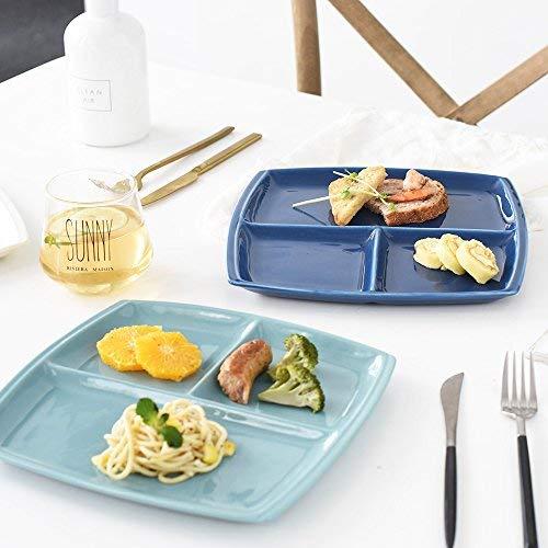Juego de platos divididos – aptos para lavavajillas y microondas ...