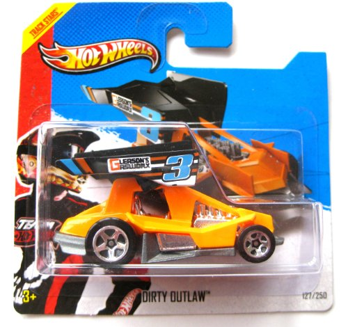 Hot Wheels Dirty Outlaw orange-schwarz 1:64