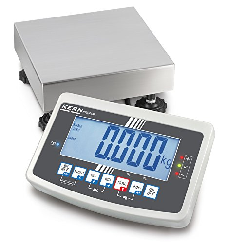 Kern IFB 6K-3SM - Robust Platform scale, in heavy version with EC type approval [M], Weighing Range [Max]: 3 kg / 6 kg, Readout [d]: 1 g / 2 g, Incl. VERIFICATION