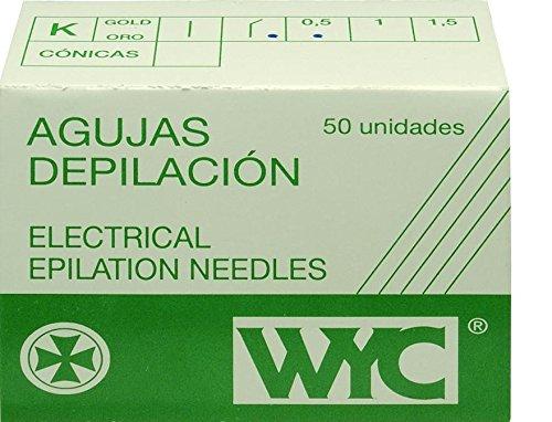WYC Aguja depilación, n. 1.5-100 unidades