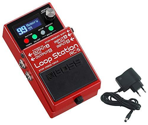 BOSS RC-5 Loop Station Looper + shop2rock 9 V...