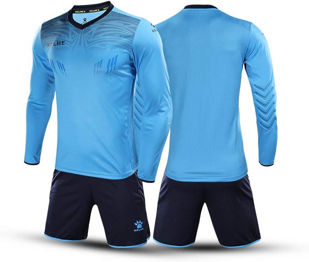 KELME Men Women Arlington Mall Padded Goalkeeper Shorts Socce Youth Jersey Max 89% OFF and