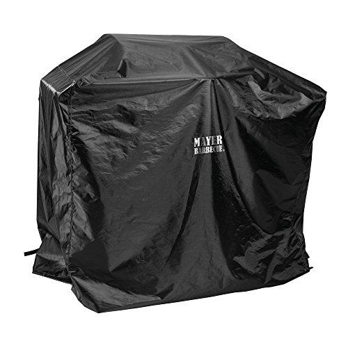 Mayer Barbecue, Grillabdeckung, Grill Abdeckhaube, schwarz, 100 x 90 x 60 cm, wetterfest