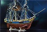 ZNYB Maquetas De Barcos De Madera para Montaje Escala 1/64 clásico Barco de Vela de Madera británico Modelo Bounty Barco mercante Kit de Modelo de Madera