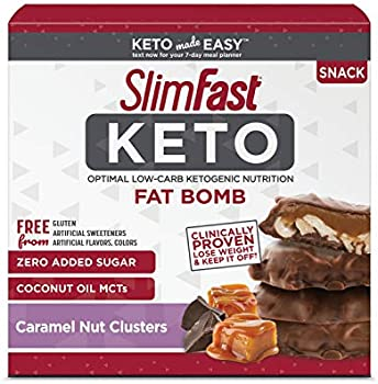 14-Count SlimFast Keto Fat Bomb Snacks