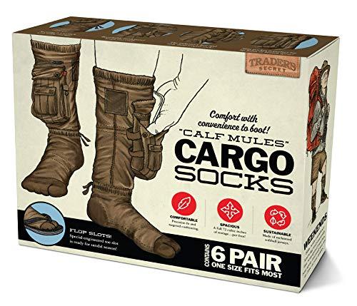 "Prank Pack - ""Cargo Socks"" Wrap Your Real Gift in a Prank Funny Gag Joke Gift Box"