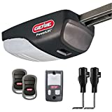 Genie Powerlift 900 Garage Door Opener - 1/2 HP Screw Drive System - Includes 2, 3-Button Remotes, Wall Console, Safe T-Beams - Model 2562-TC