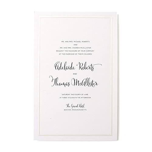 Wedding Invitation Kits Do It Yourself Amazon