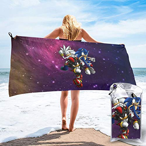Microfiber Son-Ic Pool Towel 31.5'X63' Colorful Outdoors Travel Quick Dry Towels For Adult