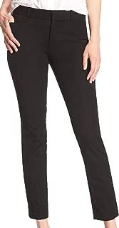Women's Sloan Slim Mid-Rise Black Ankle Pant
