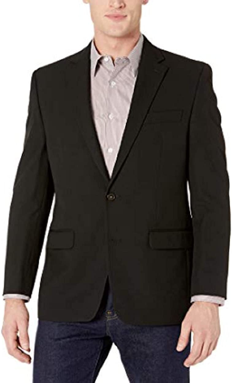 Chaps Men's All American Classic Fit Suit Separates-Custom Jacket & Pant Size Selection
