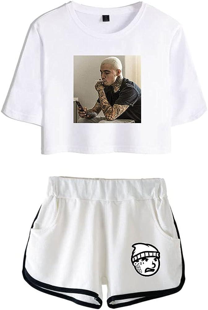 Tydres Gera MX 2 Piece Sets Hip Hop Short Sleeve Suit Womens Girl Set Casual Accessories Fashion Suit (WW-YM00709,XS)