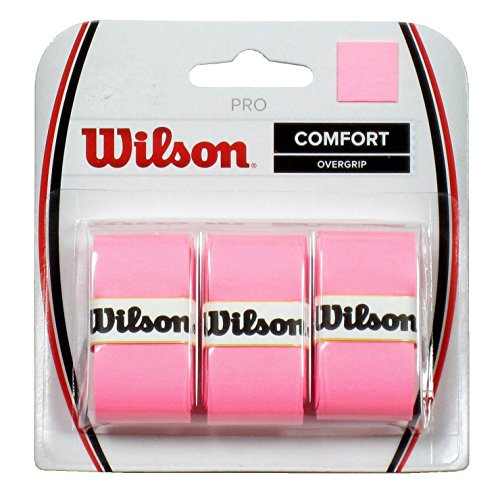 Wilson Pro Overgrip - 3 Grips, Color- Pink by Wilson